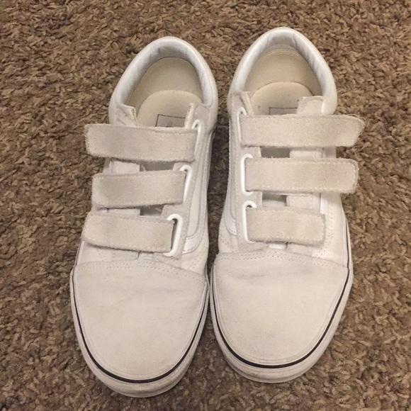 Vans Shoes   Velcro   Poshmark